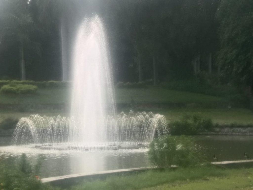 Water Fountain in Delhi Zoo