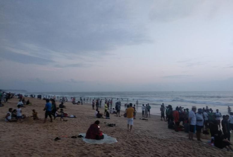 Anjuna Beach Goa West India Holidays