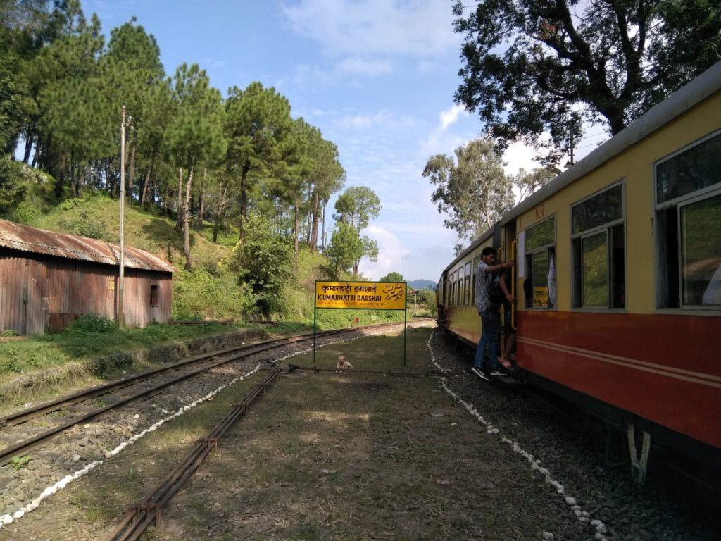 Kumarhatti Dagshai to Shimla Toy Train Experience