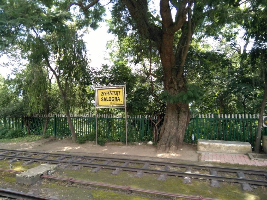 Salogra to Shimla Toy Train