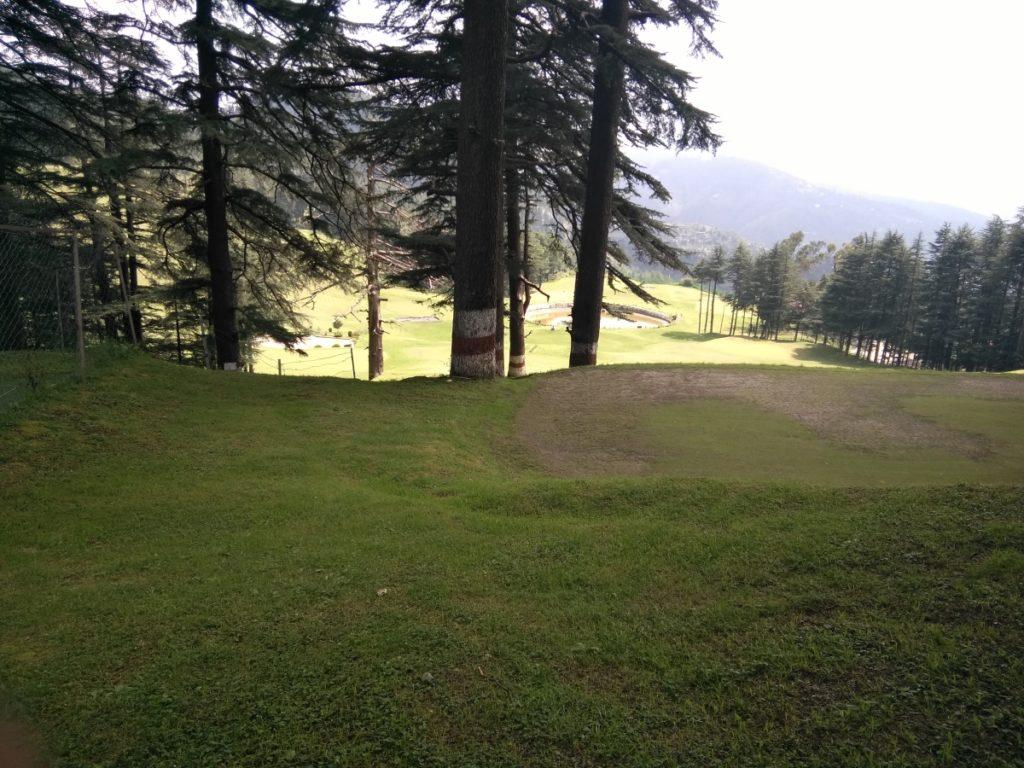 Naldehra 18 Pole Golf Course