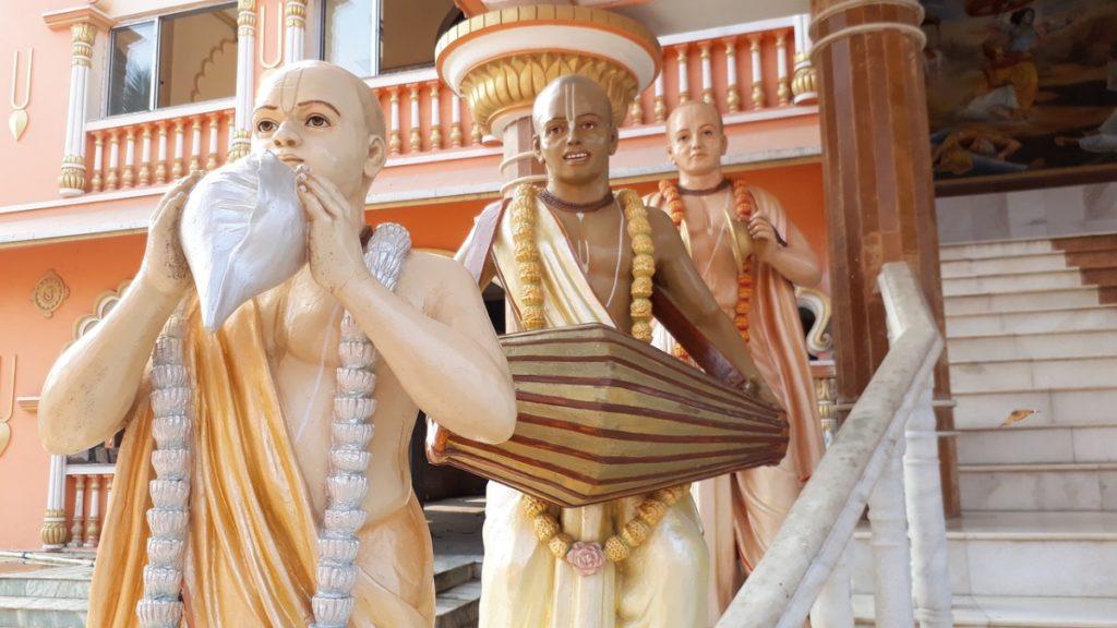 Famous Krishna Temple Delhi - Isckon Temple