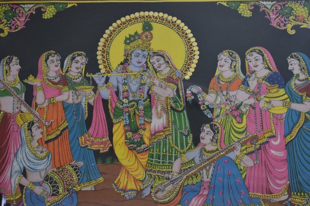 Radha Krishna Temples - Janmashtami Celebration
