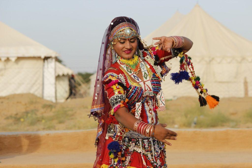 Rajasthani Dance at Puskar Fair