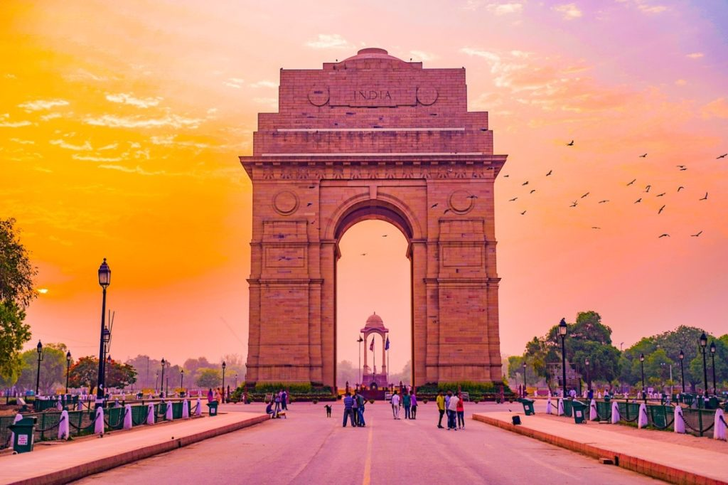 India Gate Delhi Places to Visit