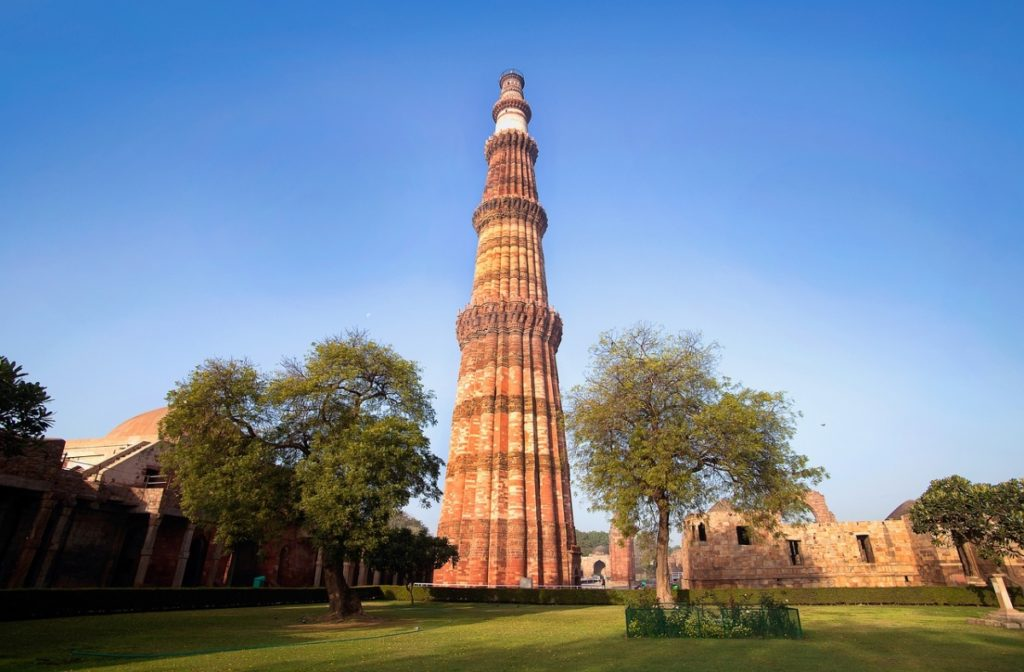 Qutub Minar Tower Delhi Tourism