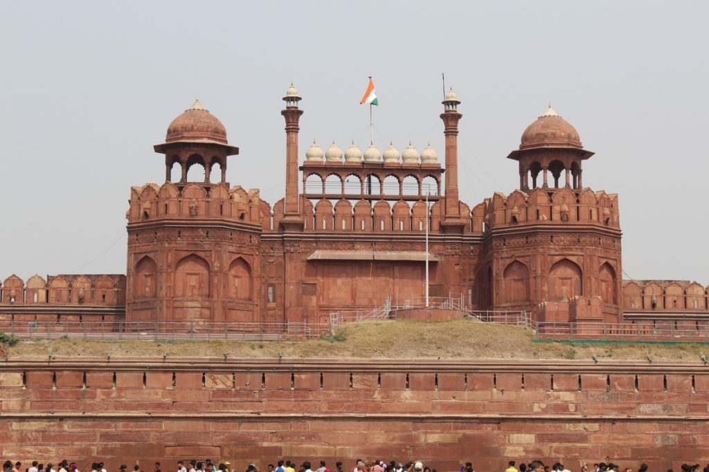 Red Fort New Delhi Tourist Place