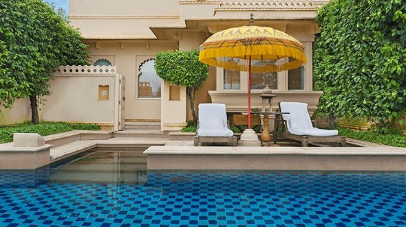 The Oberoi Udaivilas Palace Hotel Udaipur