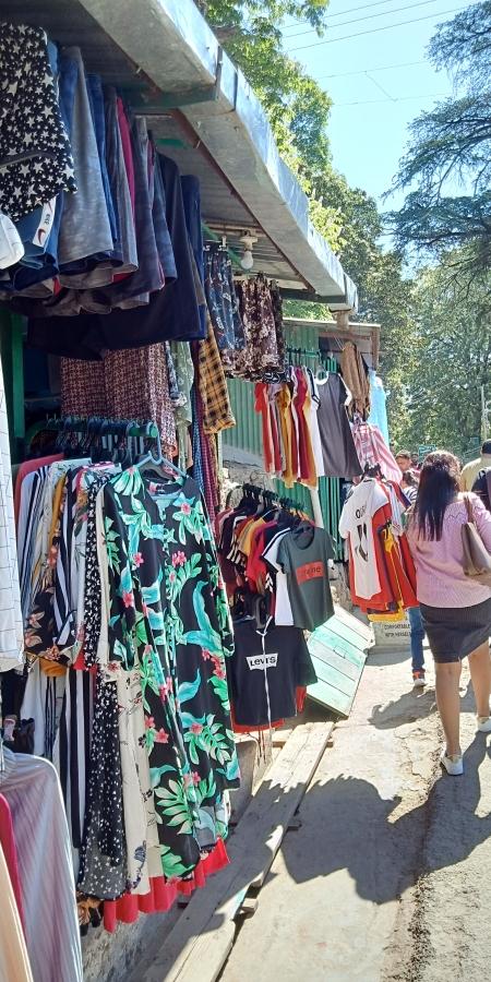 Kasauli Market Mall Road