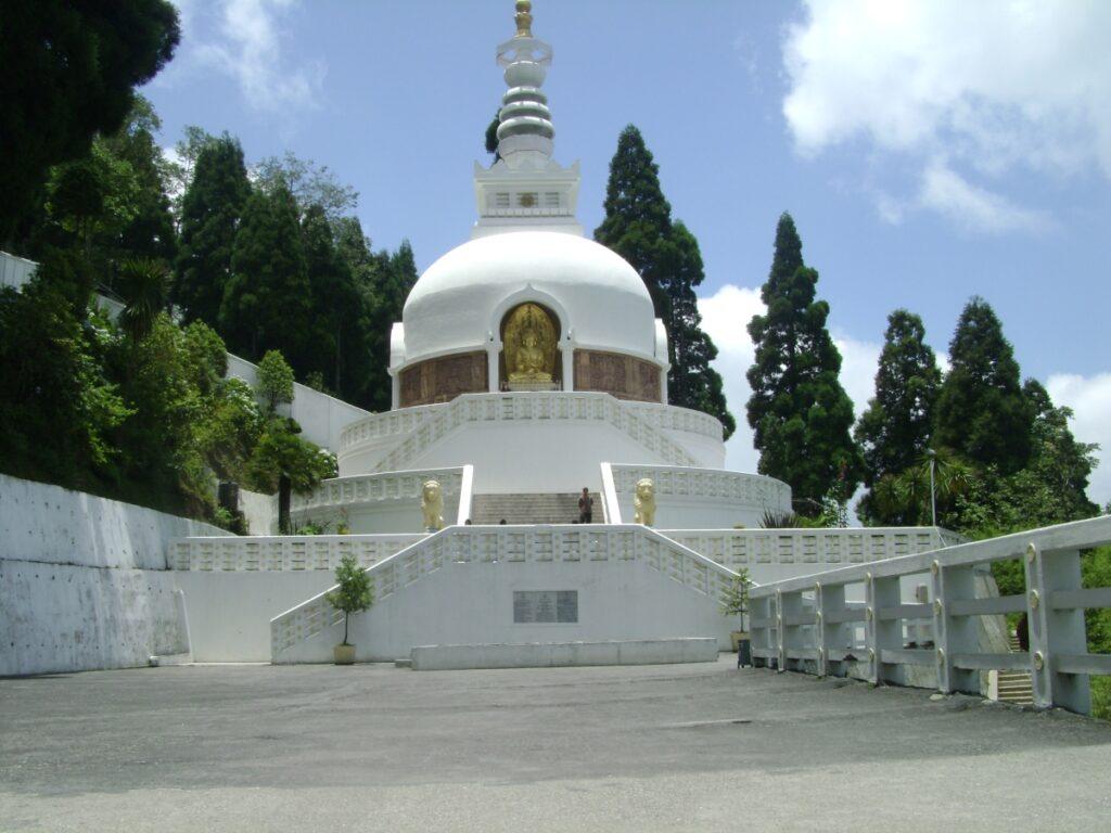 Peace Pagoda Darjeeling