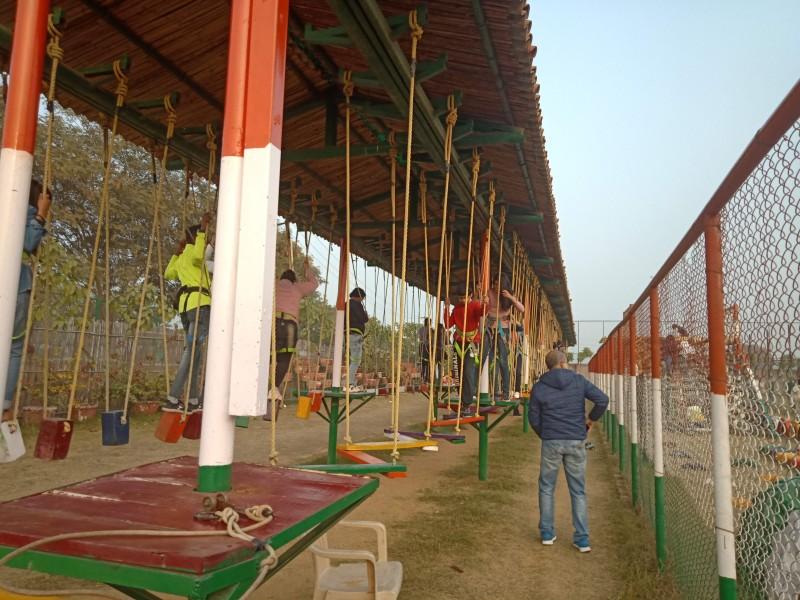 Adventure Activities Pratapgarh Farms