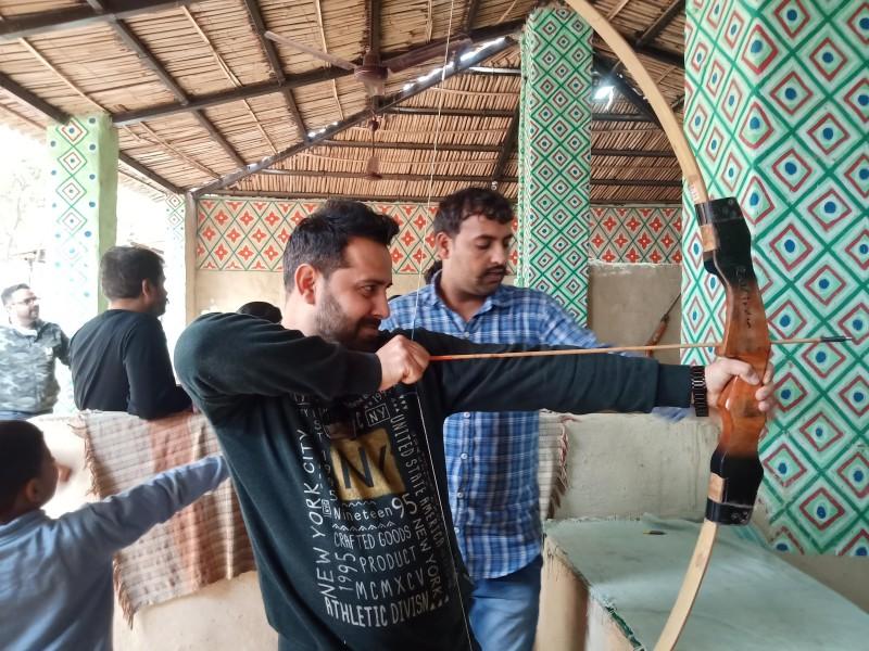 Archery at Pratapgarh Farms Jhajjar