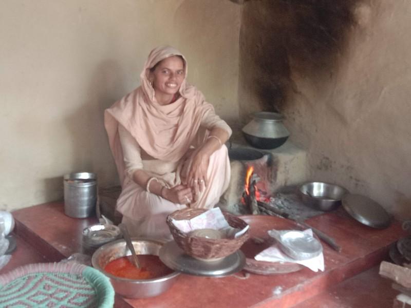 Food at Chulah in Pratapgarh Farms Jhajjar