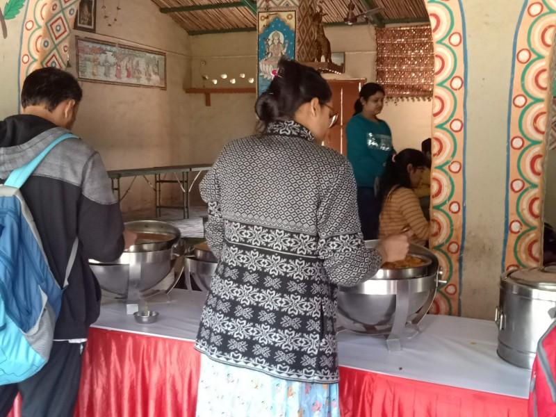 Food Menu at Pratap Garh Village Resort