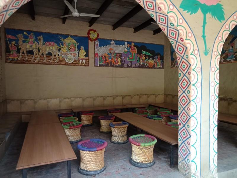 Lunch Area at Pratagarh Village Resort