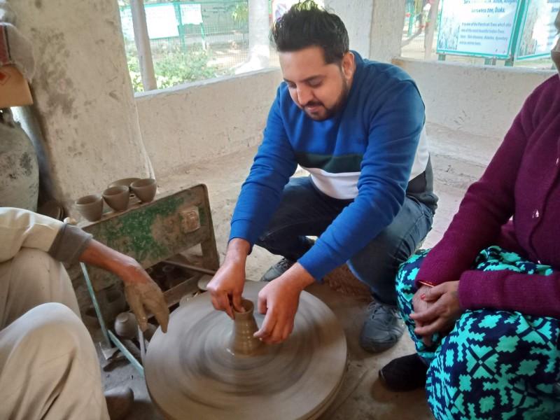 Pottery at Jhajjar Prataparh Farms