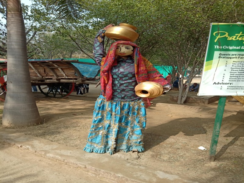 Experience the Village Culture at Pratapgarh Resorts