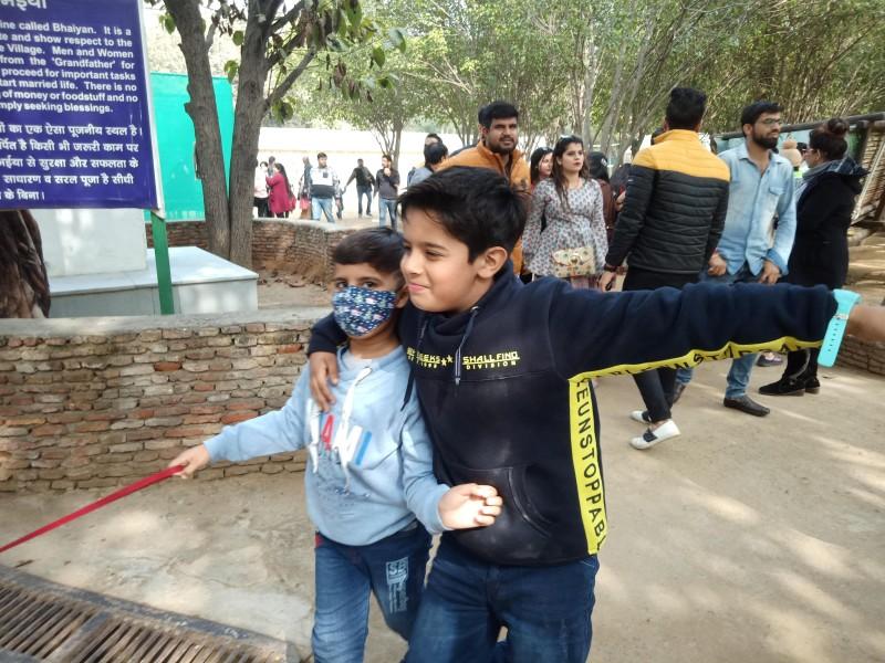 Children fun at Pratapgarh Resort Jhajjar